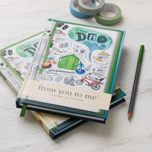 'Dear Dad' Journal Of A Lifetime - stationery sale