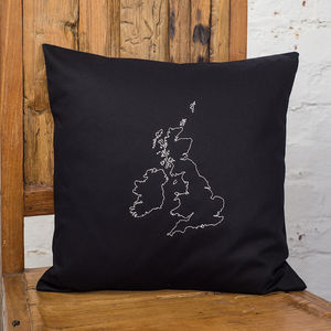 Personalised Map Cushion Cover