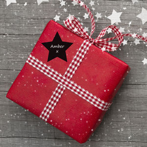 Set Of Christmas Chalkboard Labels