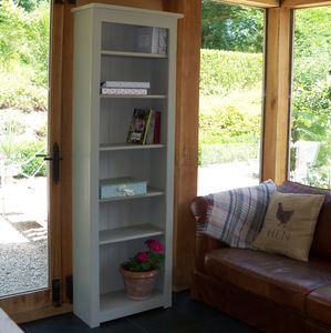 Compton Bookcase Hand Painted In Any Colour And Size - living room