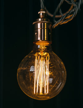 Globe Squirrel Cage Bulb