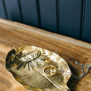 Gold Leaf Dish