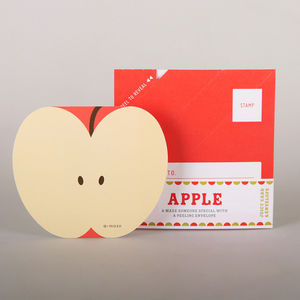 Apple Fruit Card