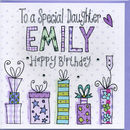 Personalised Daughter Birthday Card