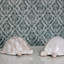 Decorative Stoneware Tortoise Sculpture