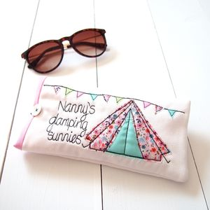 Glamping Sunglasses Case