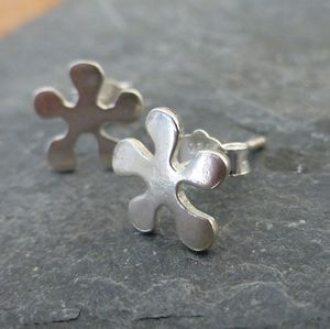 Dazy Silver Studs - children's accessories