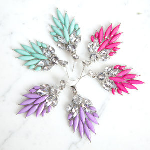Bohemian Drop Earrings - cocktail jewellery