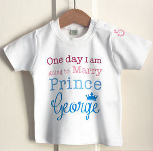 'Going To Marry Prince George' T Shirt - t-shirts & tops