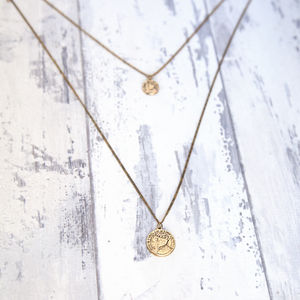 Double Coin Necklace - view all sale items