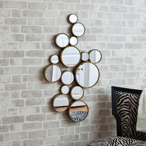 'Funky' Circles Mirror - home accessories