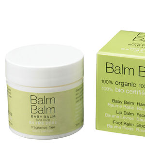 Fragrance Free Baby Balm - bath time