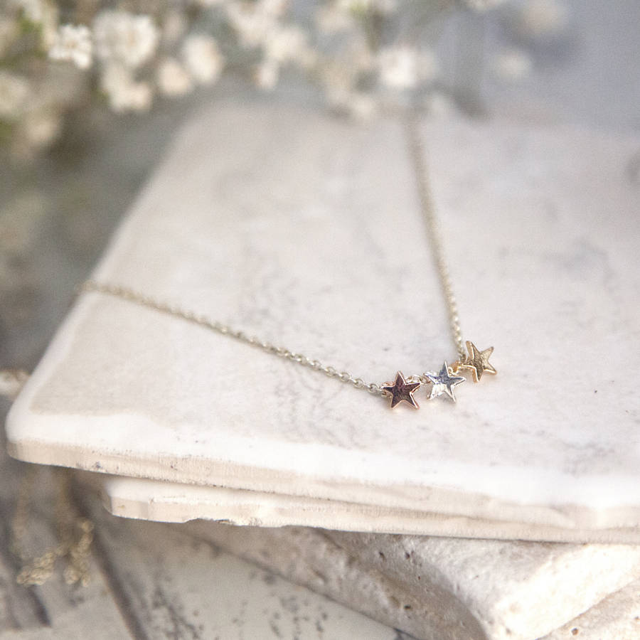 clothes star tiny daisy goldmoonandstartinynecklace necklace shoppe cute gold moon products