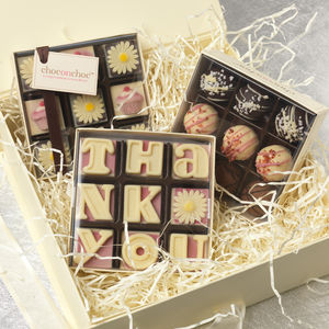 Thank You Chocolate Hamper - chocolates