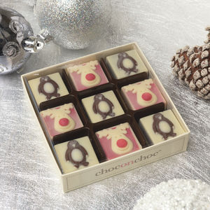 Chocolate Reindeers And Penguins - view all sale items