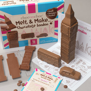 Make Your Own Chocolate London - london-themed