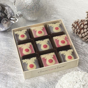 Chocolate Reindeers - gifts for vegetarians