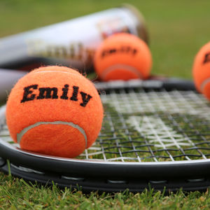 Personalised Tennis Balls - interests & hobbies