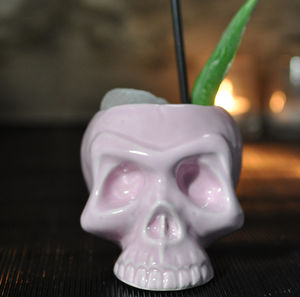 Candy Skull Cocktail Mug