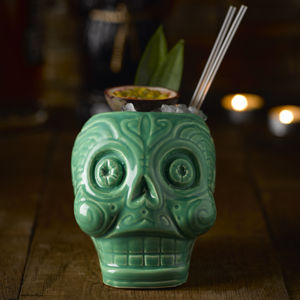 Day Of The Dead Cocktail Mug - the mexicana collection