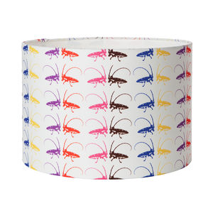 Chroma Cricket Lampshade - dining room
