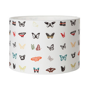 Alpine Butterfly Lampshade - bedroom