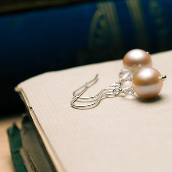 Muse Pearl Earrings by Rachel Lucie