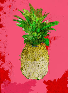 Pineapple Limited Edition Print - posters & prints