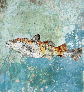 Fish In The Sea Limited Edition Signed Print - limited edition art