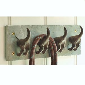 Dog Tail Coat Rack - baby's room
