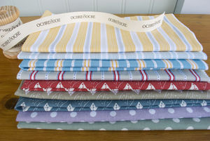 Organic Cotton Fat Quarters The Works - throws, blankets & fabric