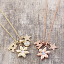 Design Your Own Flower Necklace
