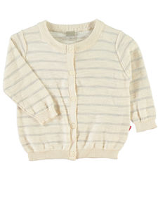 Kutti Cream Long Sleeve Knit Cardigan - jumpers & cardigans