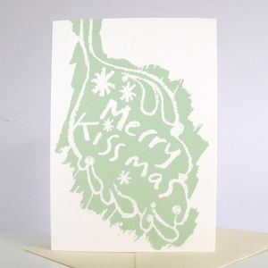 'Merry Kissmas' Pack Of Six Cards - cards