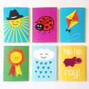 Cute Cards For All Occasions Set Of Six