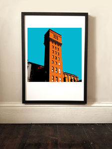 Bow Quarter London Landmark Print