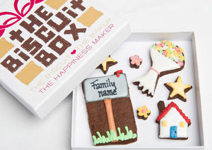 Personalised Mailbox Biscuits Gift