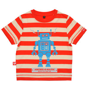 Personalised Robot T Shirt - t-shirts & tops