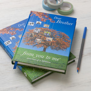'Dear Brother', Journal Of A Lifetime - gifts for brothers