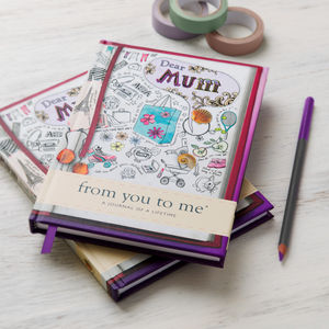 'Dear Mum' Journal Of A Lifetime - under £25