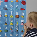 Child's Alphabet Educational Wall Hanging