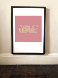 Love In Roses Graphic Print