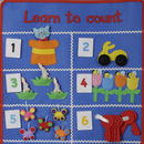 Child's Numerical Educational Wall Hanging