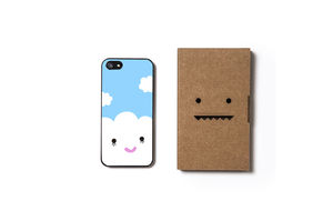 Happy Cloud Case For iPhone Five