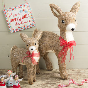 Bristle Christmas Deer