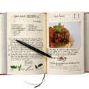My Family Recipe Book Red
