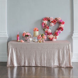 Sequin Tablecloth - kitchen
