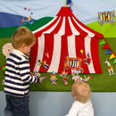 Child's Interactive Circus Wall Hanging