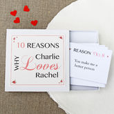 Personalised Love Notes - cards