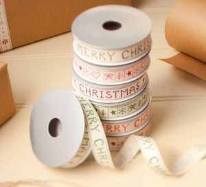 Set Of Four Merry Christmas Ribbons - christmas sale